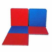 REVERSIBLE INTERLOCKING PUZZLE MATS