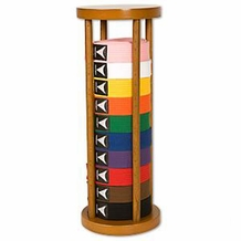 ROUND STACKER 10 LEVEL BELT DISPLAY