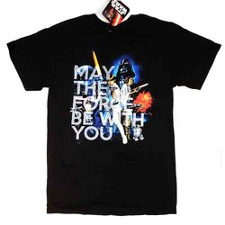 STAR WARS T-SHIRT FORCE BE WITH YOU