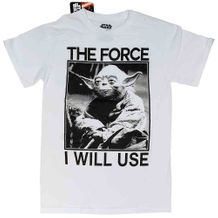 STAR WARS T-SHIRT THE FORCE I USE