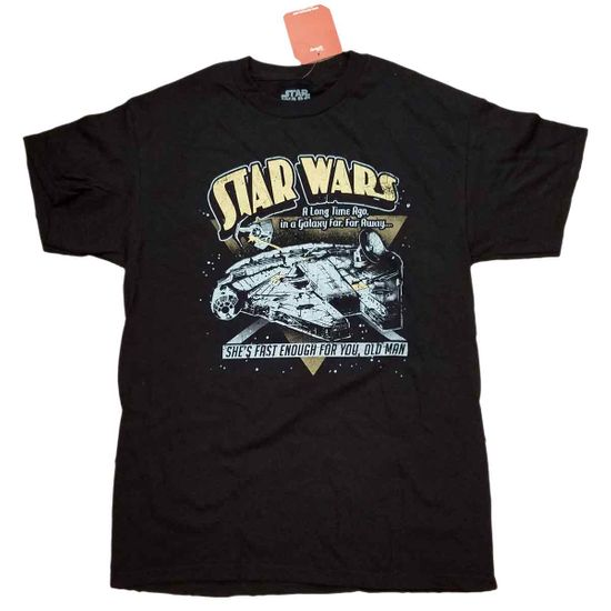 STAR WARS T-SHIRT WITH MILLENNIUM FALCON