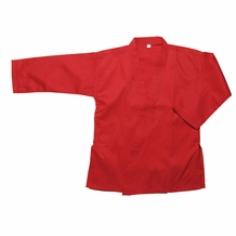 STUDENT KARATE GI RED TOP 7oz