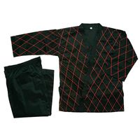 HAPKIDO UNIFORM BLACK WITH RED STITCHING