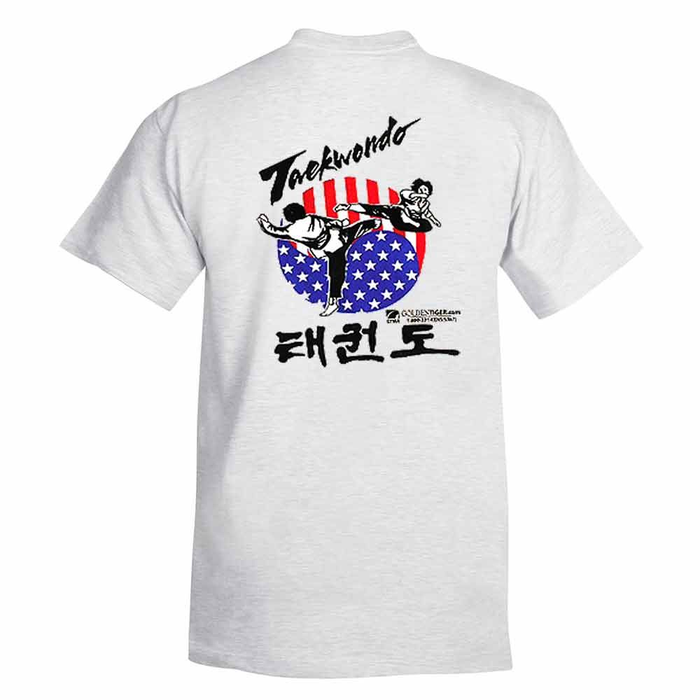 Tae Kwon Do Printed T Shirts On Sale For Only 1150