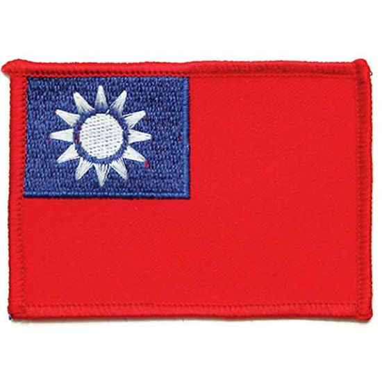 TAIWANESE FLAG PATCH