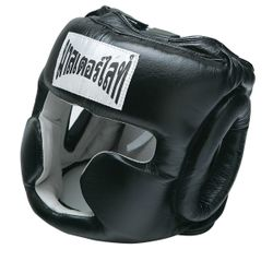 THAISMAI BOXING HEAD GEAR BLACK