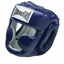 THAISMAI BOXING HEAD GEAR BLUE
