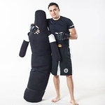 TIGER CLAW BLACK CANVAS GRAPPLING DUMMY - image 1