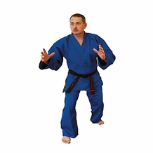 TIGER CLAW BLUE HAYASHI SINGLE WEAVE JUDO UNIFORM