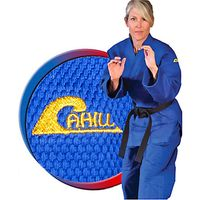 TIGER CLAW CAHILL BLUE DOUBLE WEAVE JUDO UNIFORM