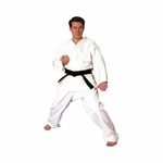 TIGER CLAW HAYASHI 14OZ HEAVY WEIGHT TRADITIONAL KARATE UNIFORM - image 2
