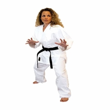 TIGER CLAW HAYASHI BLEACHED SINGLE WEAVE JUDO UNIFORM