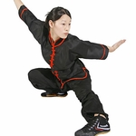 TIGER CLAW INTERLOOP KUNG FU BLACK TOP - image 1