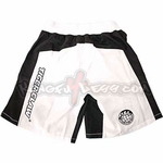 TIGER CLAW MMA SHORTS WHITE - image 1