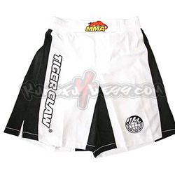 TIGER CLAW MMA SHORTS WHITE