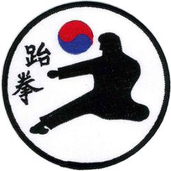 TKD KICK PATCH