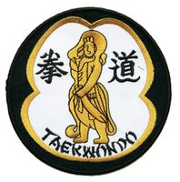 TKD WARRIOR PATCH