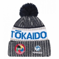 TOKAIDO KARATE WKF BLUE WINTER BEANIE