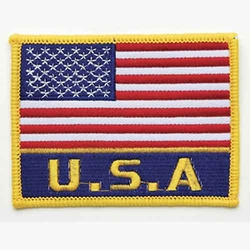 USA FLAG PATCH WITH USA