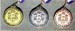 W.T.F MEDAL GOLD