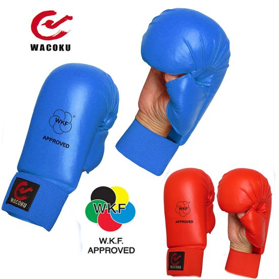 WACOKU WKF APPROVED KARATE MITTS