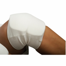 WHITE CLOTH KNEE PAD