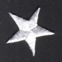 WHITE STAR PATCH