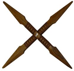 WOOD CROSS SWORD 26""