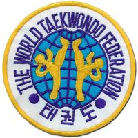 NEW WORLD TAEKWONDO FEDERATION PATCH