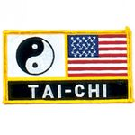 YIN YANG USA TAI CHI PATCH