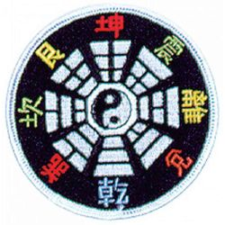 YING YANG 8 DIRECTIONS PATCH