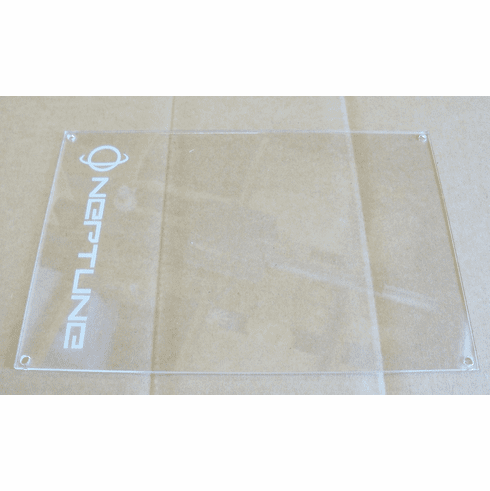 Clear ECU Cover with Neptune Logo (fits OBD1 USDM ECU's)