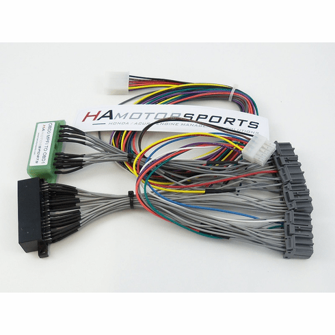 OBD0 MPFI to OBD1 ECU Jumper Harness - Manual Transmission