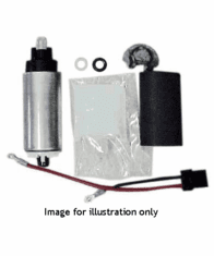 Walbro 255 LPH HP Fuel Pump Kit 88-91 Civic / CRX