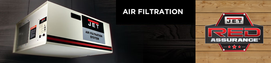 JET Woodworking Air Filtration