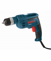 "BOSCH 1006VSR - 3/8"" 6.3 A Jacobs Ratcheting Keyless Chuck Variable Speed Drill"