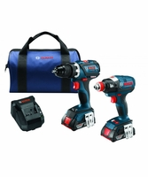 BOSCH CLPK238-181 - 18V Lithium-Ion Heavy Duty 2-Tool Brushless Combo Kit