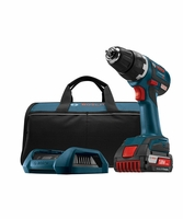 """BOSCH DDS182WC-102 - 18V EC Brushless Compact Tough 1/2"""" Drill/Driver"""