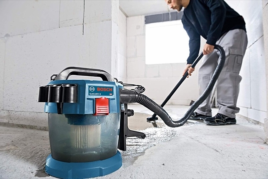 BOSCH GAS18V-3N 18V 2.6-Gallon Wet/Dry Vacuum Cleaner w/ HEPA Filter (Bare Tool)