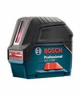 BOSCH gcl-2-160--lr-6 - Self-Leveling Cross-Line Laser w/ Plumb Points & L-Boxx Carrying Case