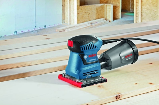 BOSCH GSS20-40 - 1/4-Sheet Orbital Finishing Sander