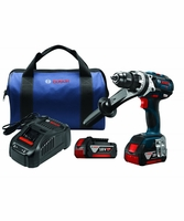 "BOSCH HDH183-01 - 18V EC Brushless Brute Tough 1/2"" Hammer Drill/Driver Kit"