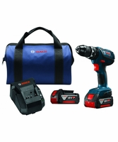 "BOSCH HDS181A-01 - 18V Compact Tough 1/2"" Hammer Drill/Driver Kit"