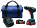BOSCH HDS181A-01 - 18V Compact Tough 1/2 Hammer Drill/Driver Kit