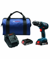"BOSCH HDS181A-02 - 18V Compact Tough 1/2"" Hammer Drill/Driver Kit"