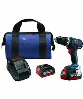 "BOSCH HDS183-01 - 18V EC Brushless Compact Tough 1/2"" Hammer Drill/Driver Kit"