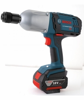 "BOSCH HTH182B - 7/16"" Hex 18V High Torque Impact Wrench - Bare Tool"