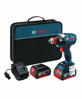 "BOSCH IDH182-01 - 18V EC Brushless 1/4"" and 1/2"" Socket-Ready Impact Driver"
