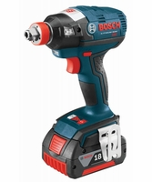 "BOSCH IDH182-02 - 18V EC Brushless 1/4"" and 1/2"" Socket-Ready Impact Driver Kit"