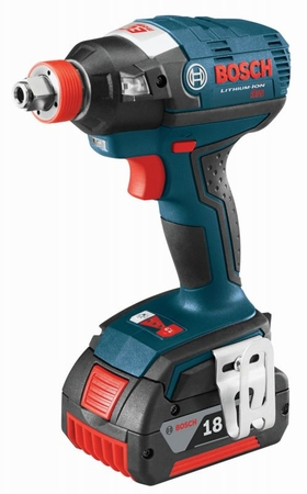 BOSCH IDH182-02 - 18V EC Brushless 1/4 and 1/2 Socket-Ready Impact Driver Kit